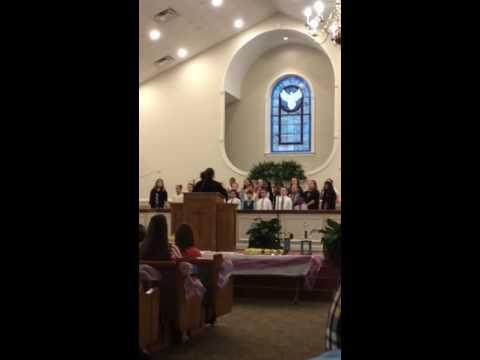 Butler Christian Academy 3rd-6th grade choir