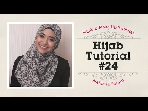 Hijab Tutorial - Natasha Farani #24