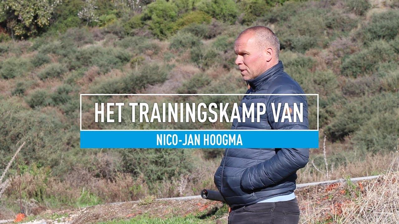 """Het trainingskamp van Nico-Jan Hoogma: """"Evaluatie met spelers en trainers"""""""