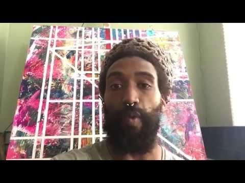 Artist Testimonial by Khalid Thompson - Light of the Ancestors Art Exhibition
