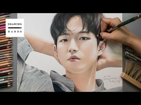 워너원 - 김재환 그림 그리기 (Speed Drawing Wanna One - Kim Jae Hwan) [Drawing Hands]