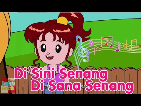 Di Sini Senang Di Sana Senang | Lagu Anak Channel