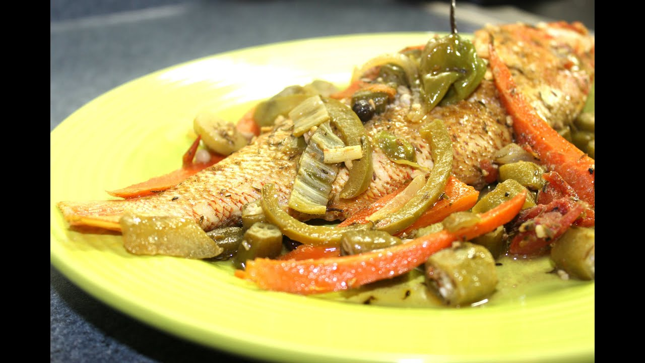 HOW TO MAKE REAL JAMAICAN STEAMED CURRY FISH WITH OKRA