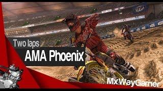 AMA Phoenix 2013 | Mx vs Atv Reflex Custom track PC | Two laps By MXwayGamer