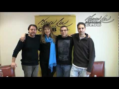 foto y saludo de Malisa Longo & Riccardo Billi