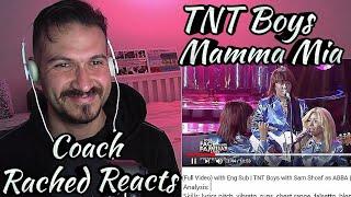 Vocal Coach Reaction + Analysis - TNT Boys - Mamma Mia