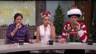 More Hilarious Holiday Product Testing with Kristen Hampton - Pickler & Ben