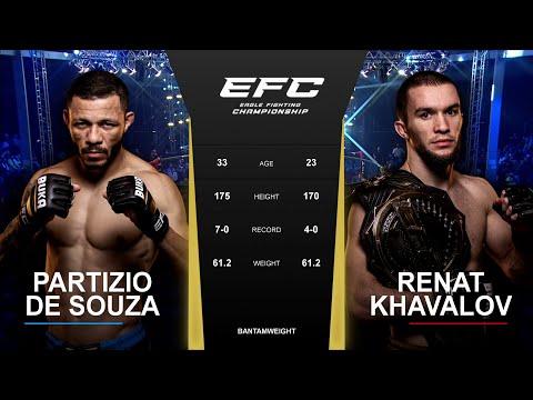 Титульный бой в легчайшем весе | EFC 42: Ренат Хавалов - Патрисио де Соуза
