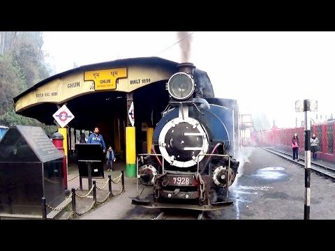 Darjeeling Ghum Toy Train Station - Highest Railway Station in India
