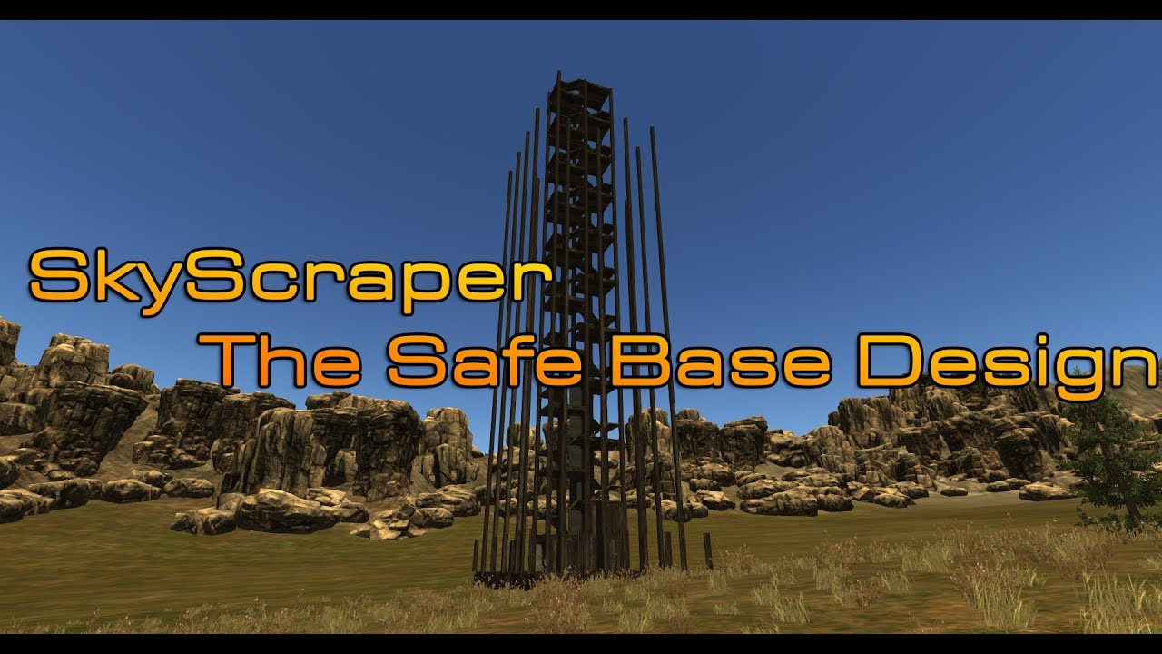 Rust safe base design almost unraidable v 1 youtube for Best house designs rust