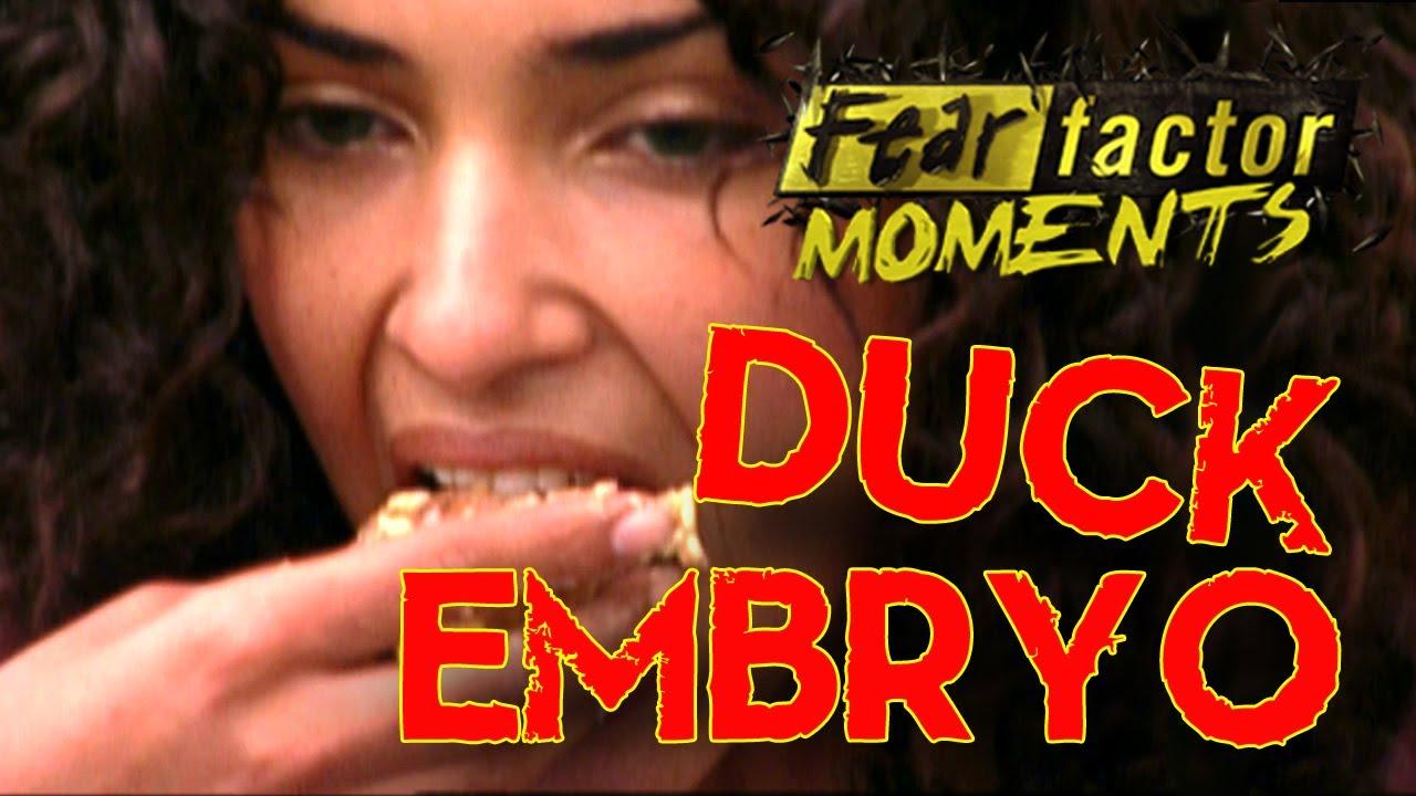 fear factor moments eat balut youtube