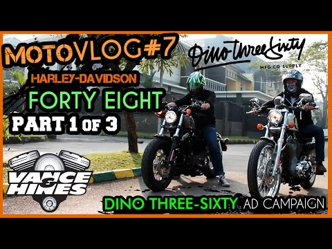 Forty Eight | Motovlog #7 (1/3) DINO360 Ad Campaign Test | V&H Competition Series