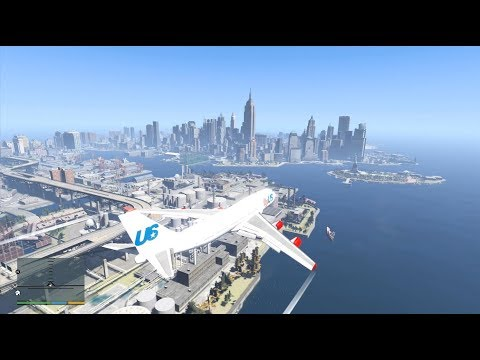 Liberty City WITH TRAFFIC In GTA 5