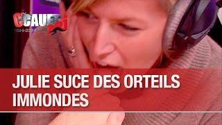 Julie suce des orteils immondes - C'Cauet sur NRJ