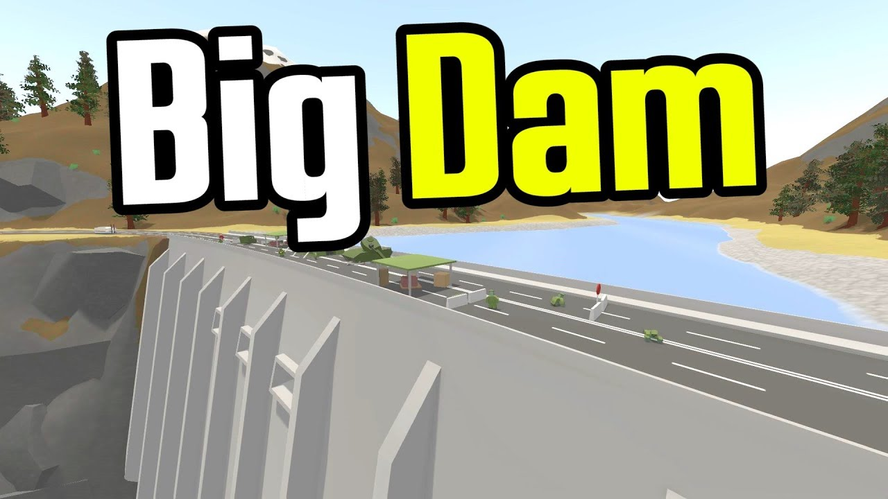 Unturned Darn Big Dam Unturned Germany Map Ep 15 Youtube
