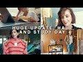 UPDATE VLOG + HAUL + STUDY DAY | sunbeamsjess