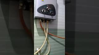 Gas geyser/water heater review
