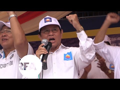 Campaigning for Cambodia's Election in Full Swing | Radio Free Asia (RFA)