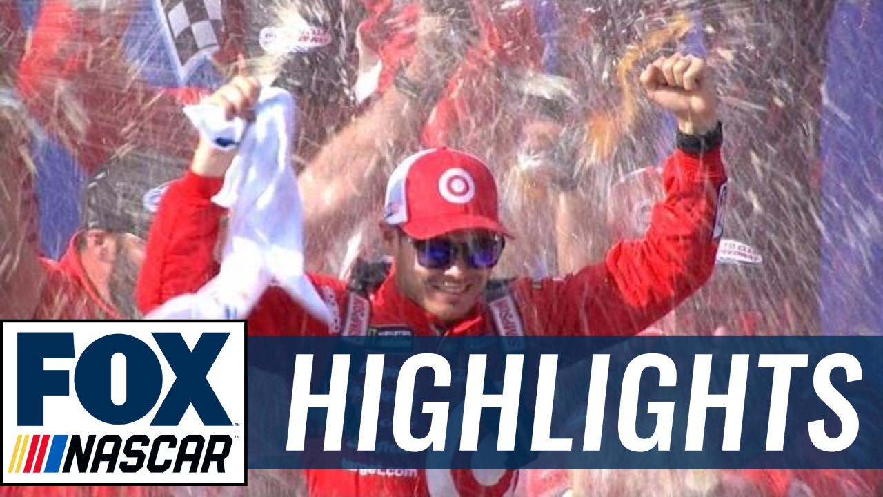 Kyle Larson grabs top starting spot for Monster Energy All-Star Race