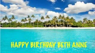 BethAnne   Beaches Playas - Happy Birthday