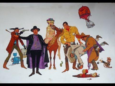 Большое ограбление банка (США,1969) комедия, вестерн HD