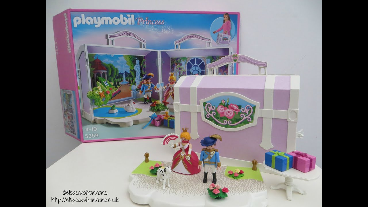 Playmobil Take Along Princess Birthday 5359 Review Youtube