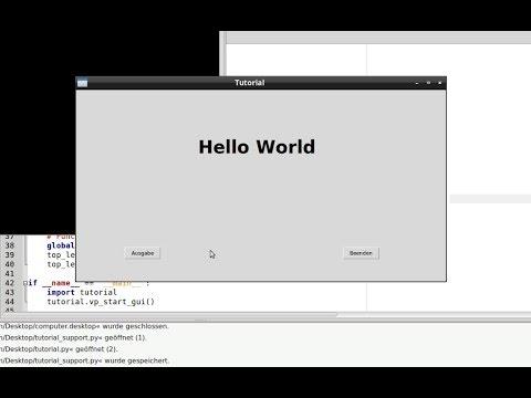 Python GUI-Builder PAGE