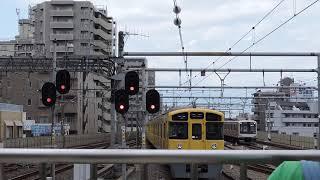 西武 2000系 8両編成 練馬駅発車