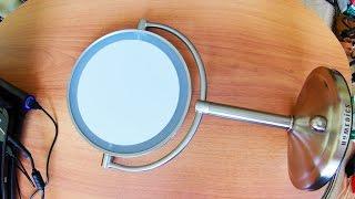 Обзор двухстороннего зеркала с подсветкой HoMedics MIR 8150