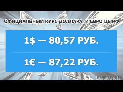 Курс доллара и евро на сегодня и завтра, 24 января 2016 года (24.01.2016), ЦБ РФ — курсы валют