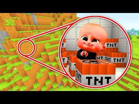 Minecraft : DESTROYING THE EVIL BOSS BABYS SECRET BASE! (Ps3/Xbox360/PS4/XboxOne/PE/MCPE)