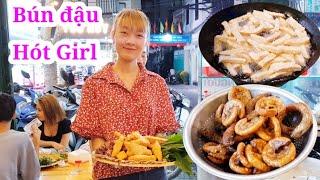 Quán bún đậu mắm tôm Chuẩn Bắc hút khách đông nghẹt ở Sài Gòn
