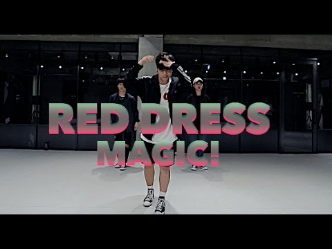 [BEGINNERS CLASS] RED DRESS - MAGIC! / SANGHYUN YOON CHOREOGRAPHY