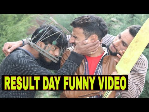 Result Day Funny Video - kashmiri rounders