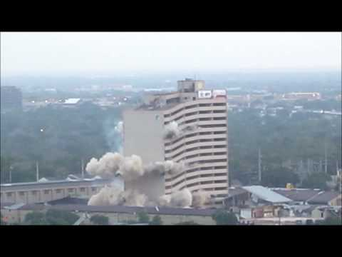 Plaza Hotel Implosion 5/24/2012 (College Station, TX)