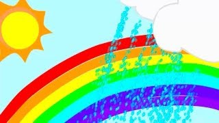 Childrens Educational Videos: Learn the Rainbow Colors - Song for Children & Toddlers! ABC 123