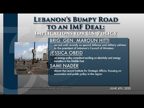 Lebanon's Bumpy Road to an IMF Deal: Implications for U.S. Policy
