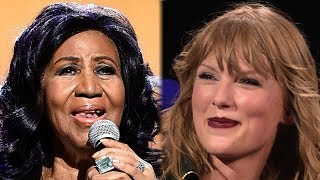 Taylor Swift Holds Moment of Silence for Aretha Franklin During Detroit Concert