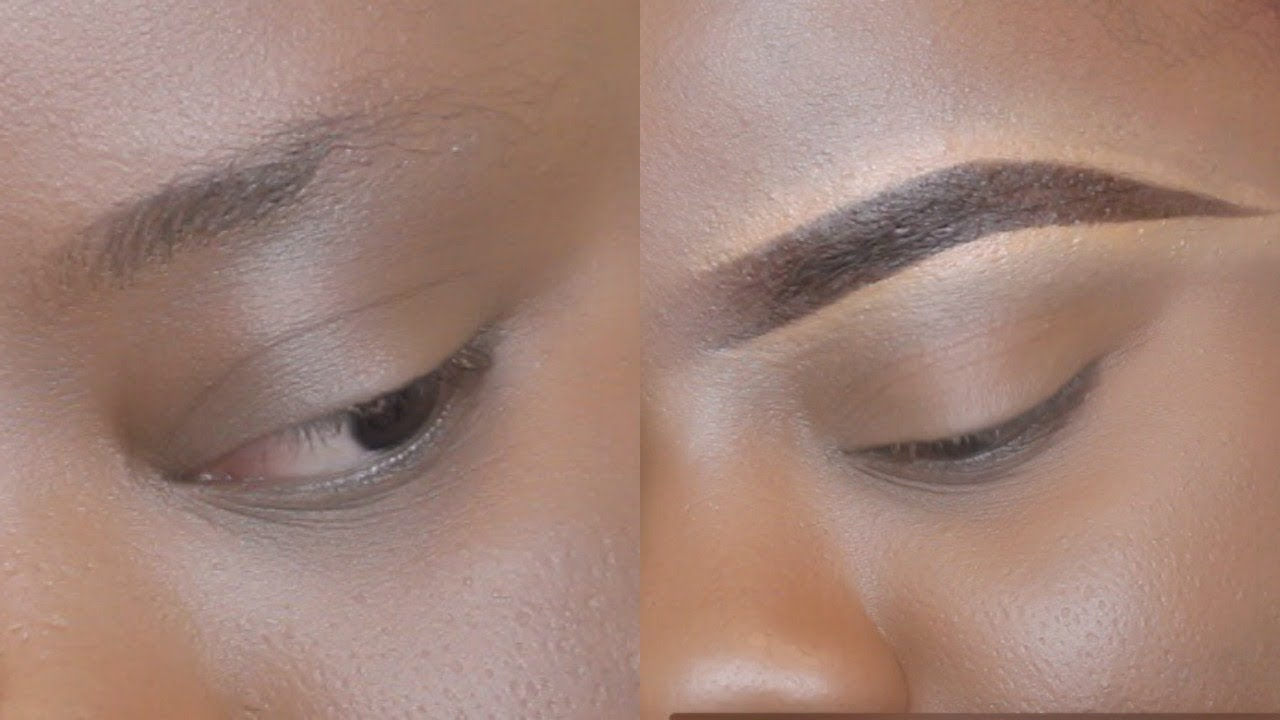 Beginner Eyebrow Tutorial /How To Do Your Eyebrows using a ...