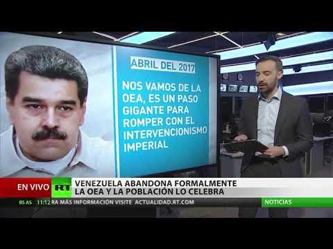 Venezuela formaliza su salida de la OEA: Las razones del inevitable desenlace