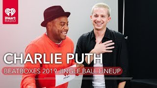 Charlie Puth Beatboxes The 2019 Jingle Ball Lineup!