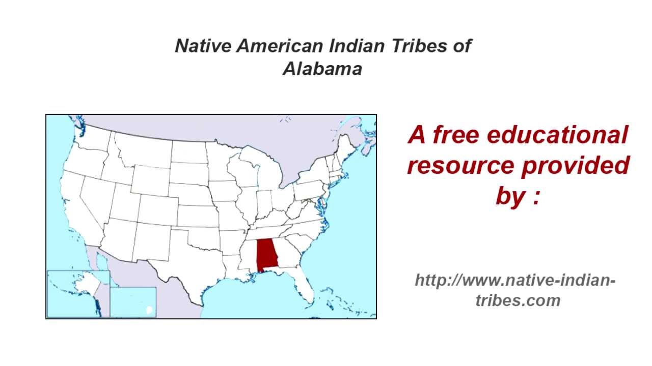 Native American Indian Tribes of Alabama - YouTube