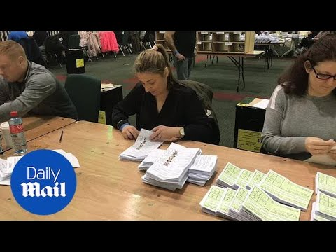 Count continues in election to decide Ireland's next president