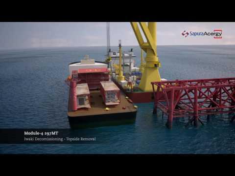 Iwaki Platform Decommissioning Project