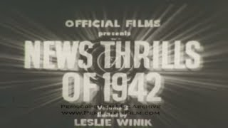 OFFICIAL FILMS NEWSREEL 1942 VOL. 3 GUADALCANAL, DIEPPE RAID 8472