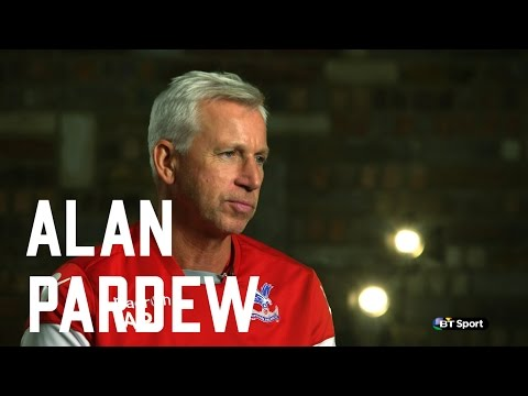 Alan Pardew BT Sport interview with Des Kelly