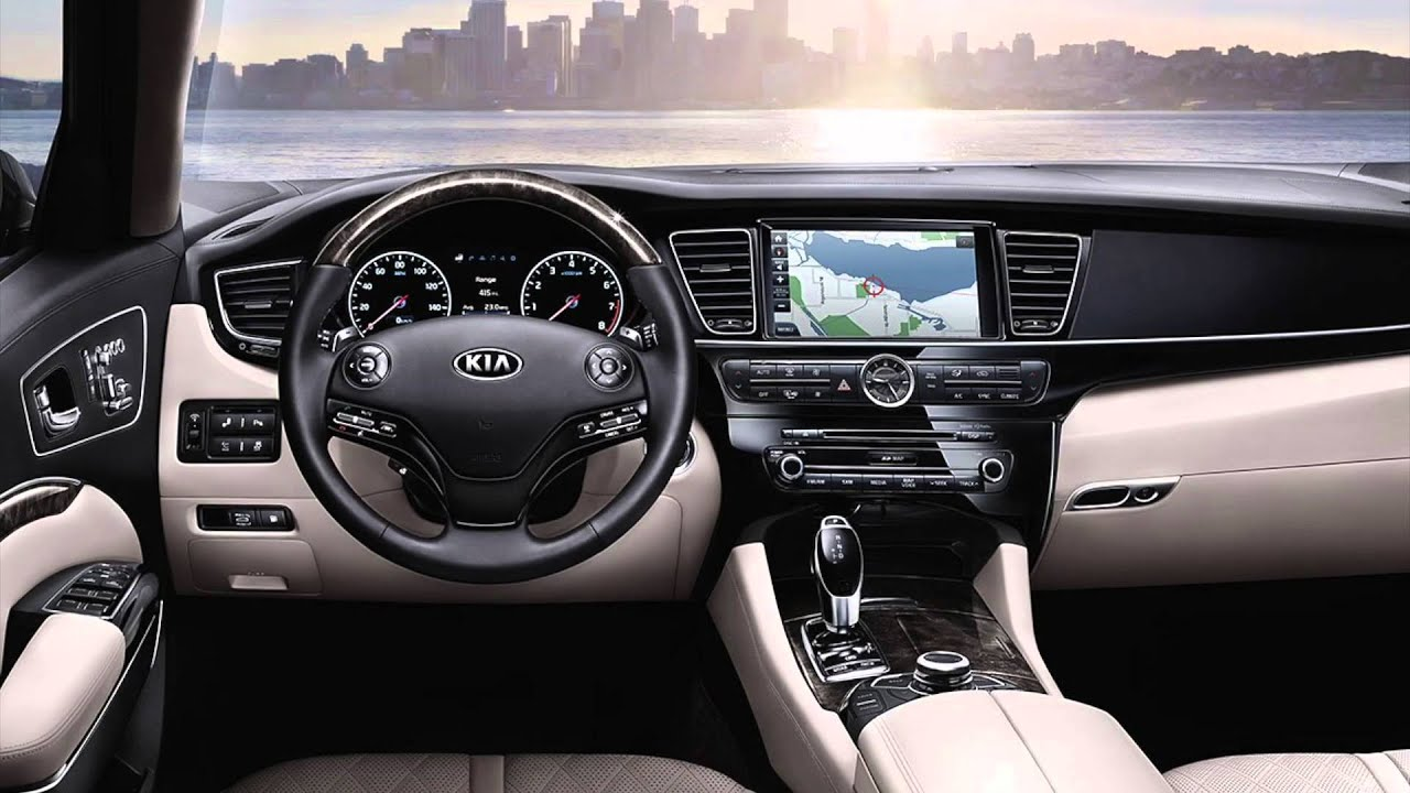 2016 kia k900 interior youtube. Black Bedroom Furniture Sets. Home Design Ideas