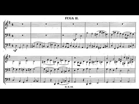Mendelssohn - Prelude and Fugue in G major, Op. 37