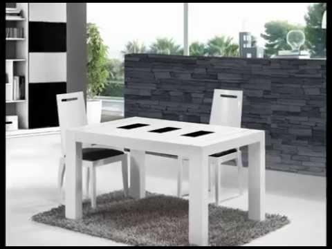 Mesas y sillas con dise os clasicos y modernos youtube for Sillas para salas pequenas