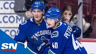 Canucks New Superstar Elias Pettersson: 10 goals in 10 Games